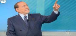 Silvio Berlusconi a Mattino 5 : I Voti a Pd e M5s sono sprecati