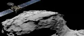 Rosetta CometLanding: la sonda impatta sulla cometa 67P/Churyumov-Gerasimenko