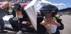 Elodie a Monza, folle corsa con la McLaren: Ero terrorizzata