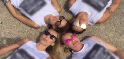 Melissa Satta dice addio al nubilato a Barcellona