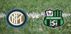 Inter Sassuolo diretta streaming gratis : Come vedere la partita in TV