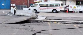 Terremoto Nuova Zelanda : Dopo forte scossa di magnitudo 7.8 è emergenza frane