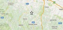 Terremoto Oggi : Scossa tra Bologna e Modena magnitudo 3