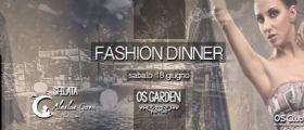 Fashion Dinner al ristorante Os Club di Roma sabato 18 giugno