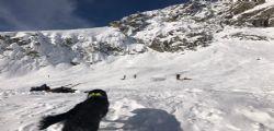 Valanga a Punta Helbronner - Monte Bianco : morti due sciatori