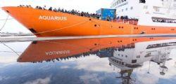 Migranti : Nave Aquarius potrebbe modificare rotta a causa del mare mosso