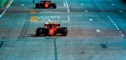 Gp Singapore, pole Leclerc su Hamilton