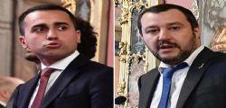Salvini e Di Maio confermano la bozza e fanno marcia indietro sull