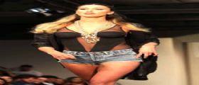 """Belen Rodriguez : sfilata di presentazione di """"Imperfect"""""""