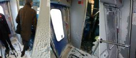 Orte-Roma - il treno frigo: Ghiaccio nei vagoni, la rabbia dei pendolari