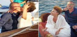 Giulio Golia matrimonio in barca a Procida