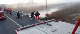 A Udine auto finisce nel canale Comor e affonda : Due morti, si cercano altri corpi