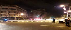 Terremoto magnitudo 6.4 a Taiwan - Marshal Hotel : 4 morti e 225 feriti