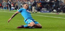 Champions League : Besiktas-Napoli 1-1 - Pagelle