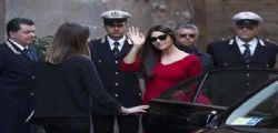 Monica Bellucci e Daniel Craig a Roma per l