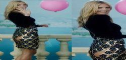 Cede la gonna di Heidi Klum : lato b in bella mostra a Cannes