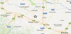 Terremoto Oggi : Scossa di terremoto magnitudo 3.7 Reggio Emilia