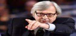 Vittorio Sgarbi al Maurizio Costanzo Show stronca il ministro Alfano
