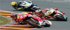 Moto Gp Sachsenring 2014 risultato gara: Marquez 1° e Rossi 4°