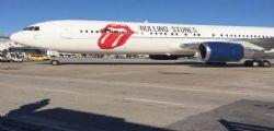 I Rolling Stones sono atterrati a Pisa