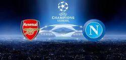 Napoli Arsenal Streaming : Diretta Partita e Online Gratis Champions League