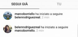 Belen Rodriguez e Marco Borriello in love?
