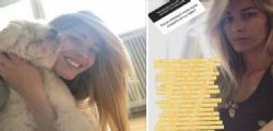 Elena Santarelli  : Ecco perché non voglio parlare dei sintomi della malattia di mio figlio