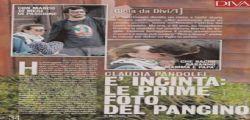 Claudia Pandolfi incinta? Pancino sospetto a Sabaudia