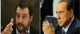 Berlusconi Salvini, Patto per mandare via Matteo Renzi : Governo pericoloso e incapace!
