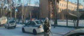 Siberia - Aggredisce i compagni con l