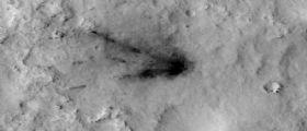 HiRISE monitora le cicatrici di Marte