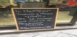 Napoli : Salvatore Visone è il Parrucchiere gratis per le donne con pensione minima