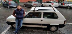 On. M5S Luigi Iovino : Il deputato più giovane arriva a Montecitorio con la Panda