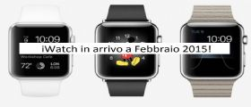Apple Watch : Presunta data di uscita Febbraio 2015