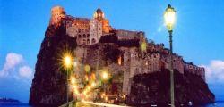 Ischia : Almerico Calise nel Castello Aragonese si barricato tutta la notte con due bombole di gas