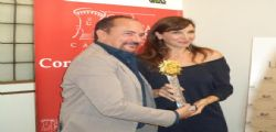 MARIA PIA CALZONE MIGLIOR ATTRICE AL GALA CINEMA FICTION CAMPANIA 2014