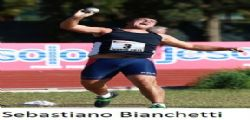 Sebastiano Bianchetti : record italiano lancio del Peso