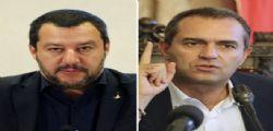 Sindaco De Magistris : Matteo Salvini tradisce la Carta