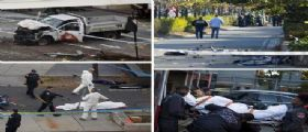 Attentato New York - furgone contro ciclisti, 8 morti : La lettera dall