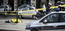 Roma : 71enne perde il controllo della moto e si schianta