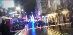 Londra : Crolla la galleria dell