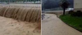 Brescia, stato di calamità naturale : Torrenti esondati e case allagate per i forti nubifragi