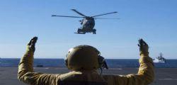 Cade elicottero della Marina Militare : morto il militare Andrea Fazio
