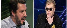 Sanremo 2016 : Matteo Salvini polemizza su Elton John