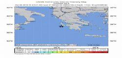 Terremoto Grecia : sisma magnitudo 6.8 avvertito anche nel Sud Italia, terminato l