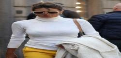 Cristina Buccino : sexy shopping a Milano