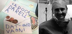 Bimbo dona i suoi risparmi al medico che ha guarito la madre dal cancro
