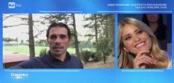 Elena Santarelli a Domenica In: Non sapevo se avrei rivisto mio figlio dopo l'operazione