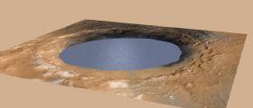 Nuova conferma: il cratere Gale era un antico lago