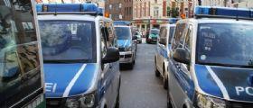 Berlino : Pacco sospetto nell